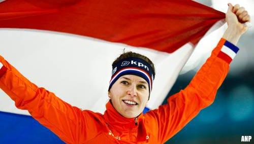 Eerste Europese titel schaatsster Ireen Wüst op 1500 m