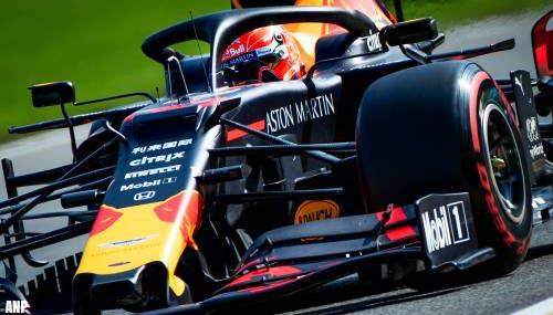Verstappen tot eind 2023 bij Red Bull in Formule 1