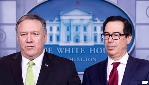 VS leggen Iran meer sancties op