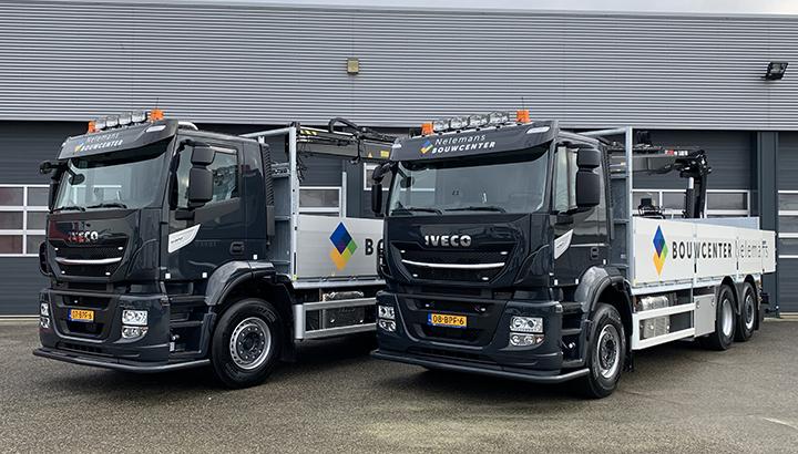 Bouwcenter Nelemans kiest voor twee IVECO Stralis kraanwagens