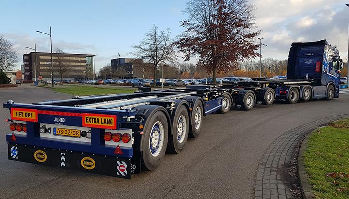 Jumbo Container LZV geschikt voor gebruik in Duitsland