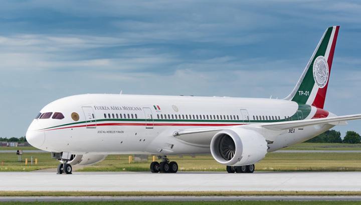 Boeing 787 van president van Mexico na jaar nog niet verkocht