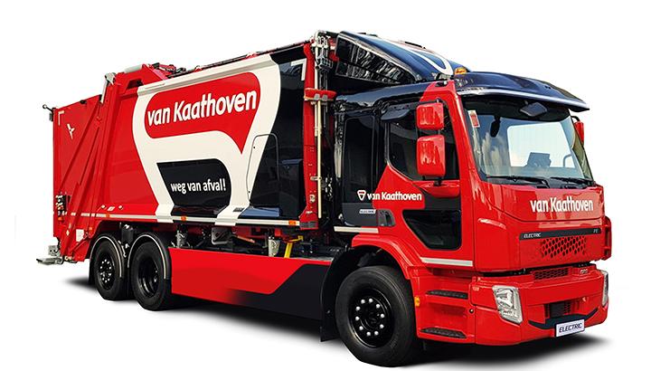Van Kaathoven kiest bewust voor Volvo FE Electric