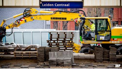 Grote overlast door werk aan spoor Den Haag en Leiden
