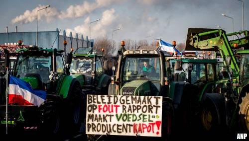 Boeren melden bedreigingen vanwege protestacties
