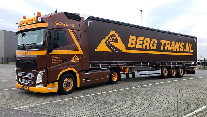 Twee nieuwe Schmitz Cargobull trailers voor Bergtrans
