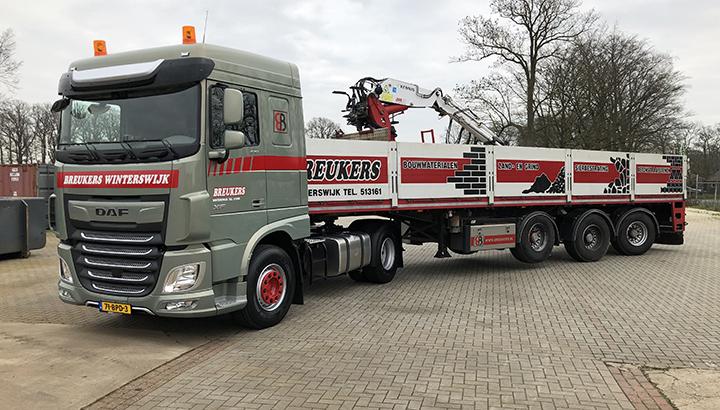 Nieuwe DAF FT XF 430 voor Breukers Winterswijk