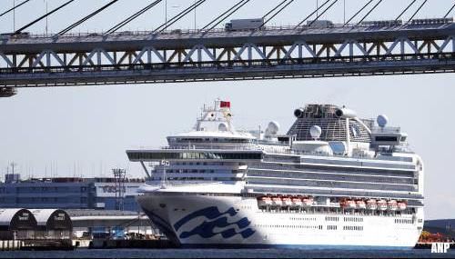 60 nieuwe gevallen coronavirus op cruiseschip 'Diamond Princess'