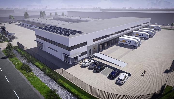 GLS opent nieuw duurzaam depot in Amsterdam