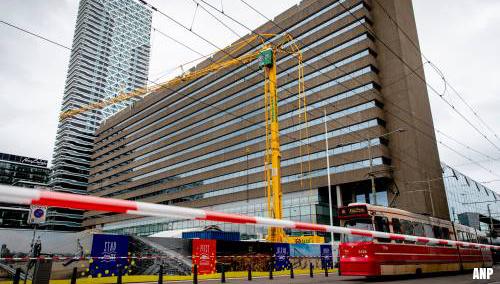 Station Den Haag weer vrijgegeven nadat hijskraan instabiel werd