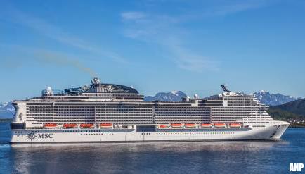 Cruiseschip MSC Meraviglia geweigerd in Caribisch gebied vanwege coronavrees