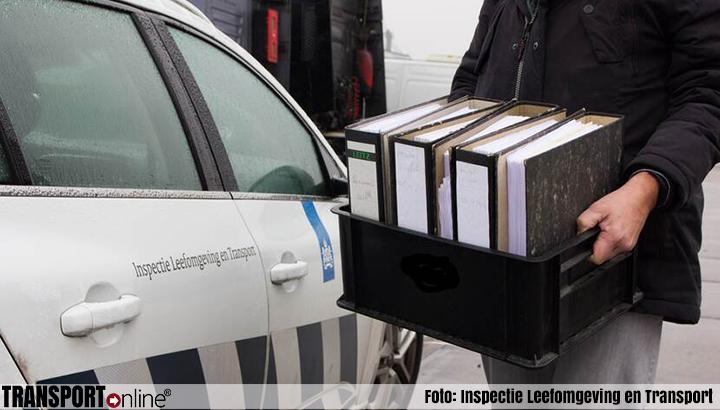 ILT doet onderzoek bij drie verdachte Rotterdamse transportbedrijven