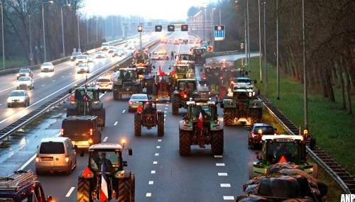 Woensdag mogelijk verkeershinder door boerenprotest