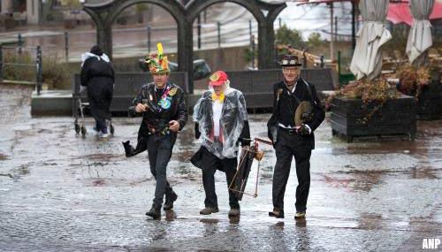 Nat en onstuimig carnavalsweekend voorspeld