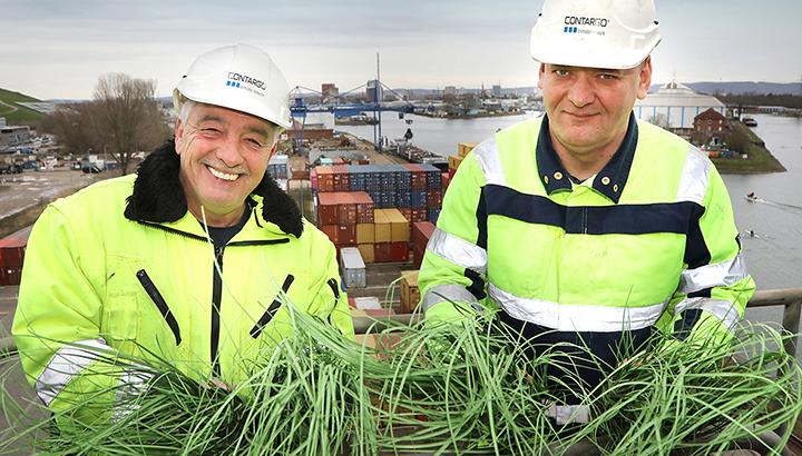 Groene stroom op alle Contargo-terminals in Duitsland