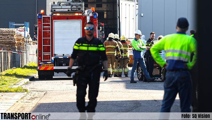 Ernstig incident bij bedrijf in Oss [+foto]