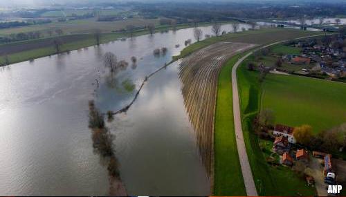 Nieuwe maatregelen tegen hoogwater Maas