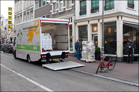 Winkeliers en transporteurs: Coronavirus dwingt tot andere stadslogistiek