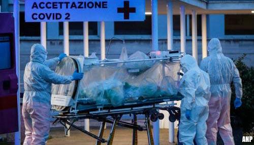 Italië ziet hoogtepunt virusbesmettingen naderen