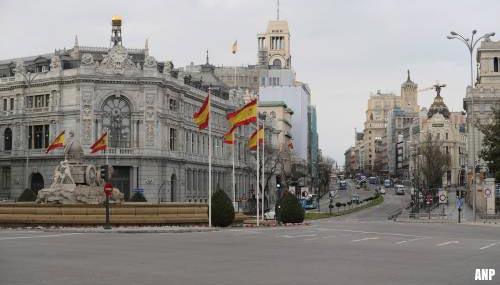 Meer coronabesmettingen vastgesteld in Spanje dan in China