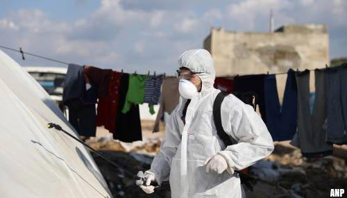 Eerste coronabesmetting in Syrië, vrees voor catastrofe