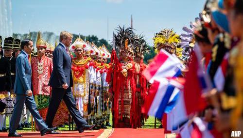 Excuses koning voor geweld tijdens onafhankelijkheid Indonesië