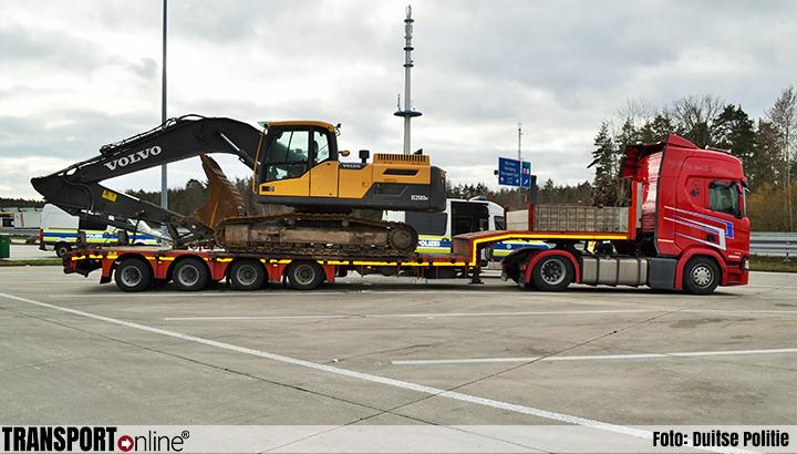 Boete en rijverbod voor zwaartransport [+foto]