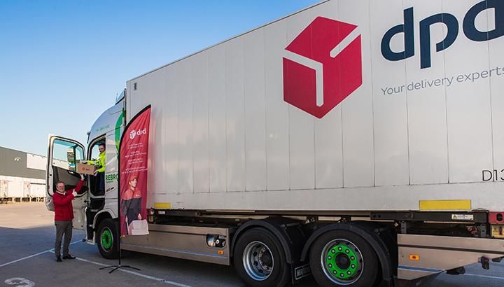 DPD steunt haar vrachtwagenchauffeurs met maaltijdpakketten