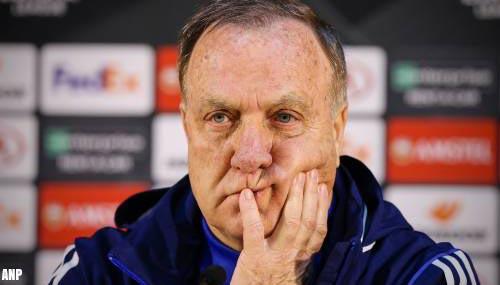 Trainer Dick Advocaat blijft nog seizoen bij Feyenoord