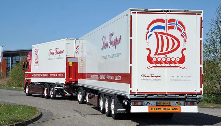 Krone LZV voor Drent Transport