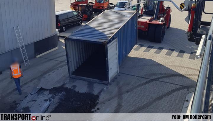 Vijf aanhoudingen na onderschepping 1459 kilo cocaïne in Rotterdamse haven