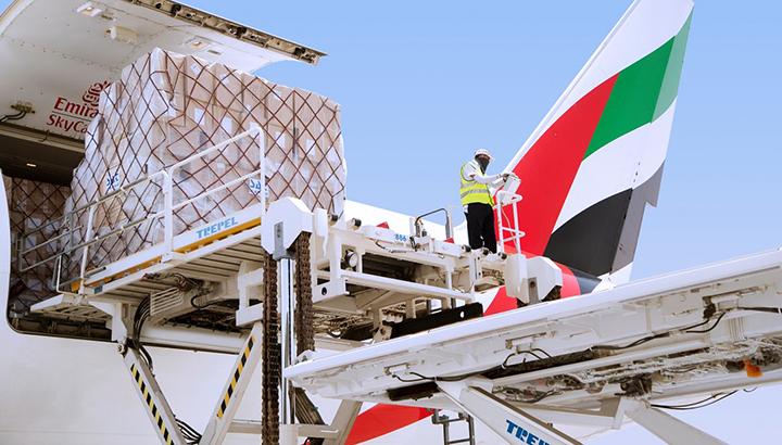 Emirates SkyCargo schaalt netwerk en activiteiten op voor het transport van essentiële goederen