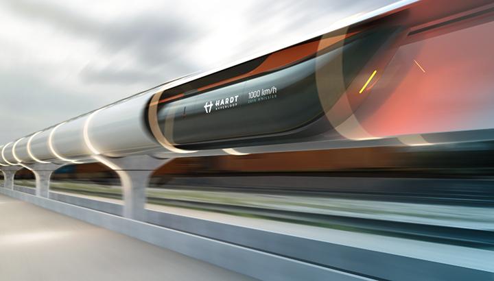 Supersnelle magneetzweeftrein maakt Brussel of Düsseldorf binnen half uur bereikbaar