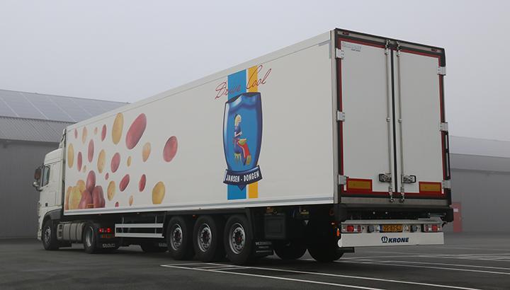 Nieuwe polyester Krone koeloplegger voor aardappelgroothandel Jansen-Dongen