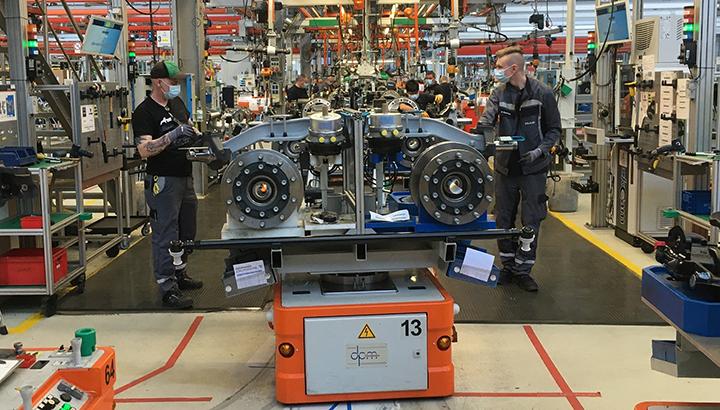 MAN hervat productie van trucks en bussen
