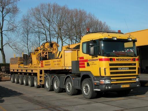 Gestolen Scania van kraanbedrijf Nederhoff gevonden