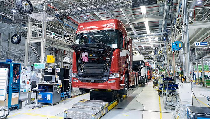 Scania Production Zwolle gaat productie weer opstarten