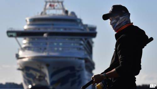 'Corona-cruiseschip' Ruby Princess legt aan in Australië