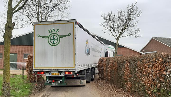 30 ton op een boerenerf vereist Pacton maatwerk