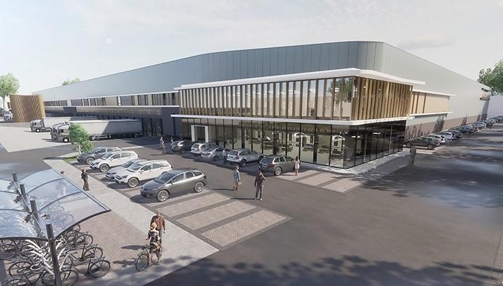 VDG Real Estate & Next Level ontwikkelen Warehouse Waalwijk