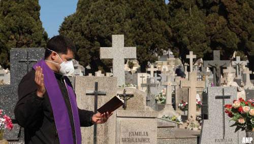 Dodental Spanje weer lager, besmettingen stijgen verder