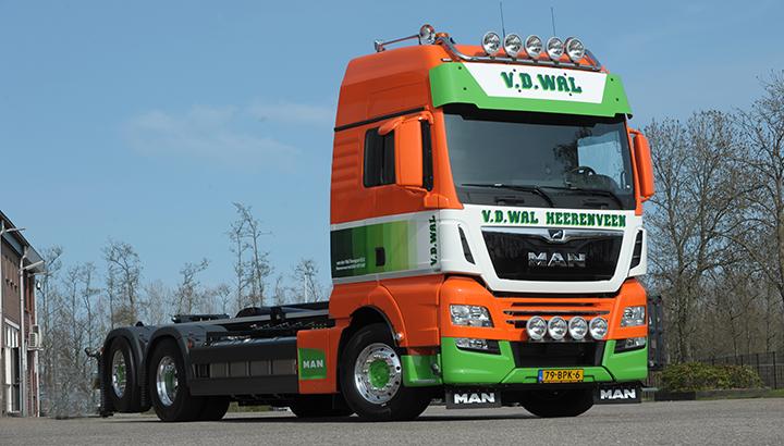 Bijzonder complete MAN voor Van der Wal