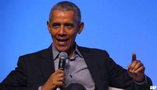 'Oud-president Obama hekelt Amerikaans coronabeleid'