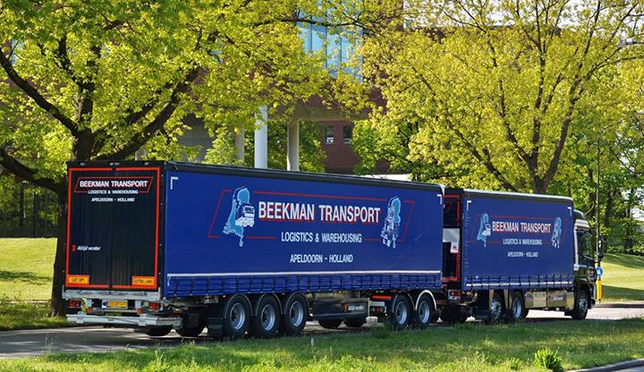 Nieuwe LZV-combinatie voor Beekman Transport