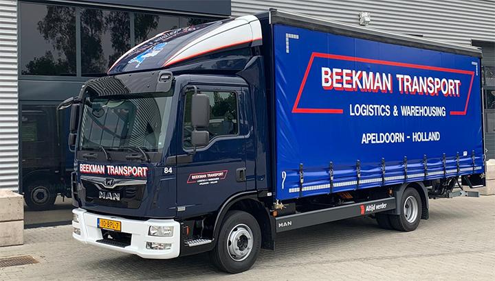 Nieuwe MAN TGL voor Beekman Transport Apeldoorn