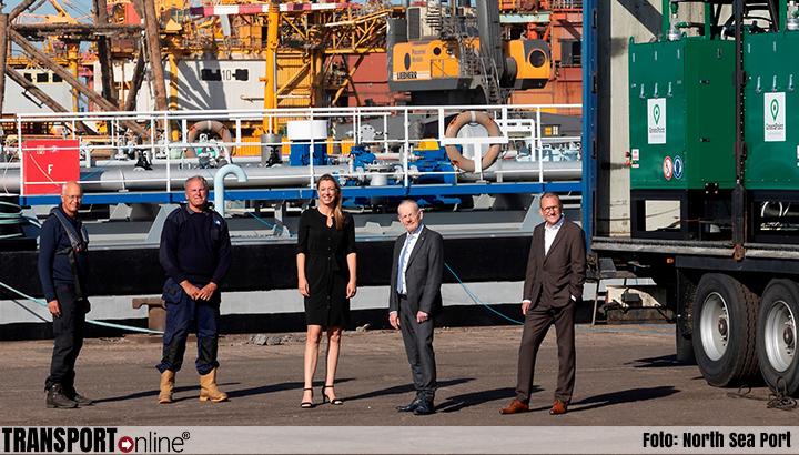 Nieuwe testen ontgassen binnenvaartschepen in North Sea Port succesvol verlopen