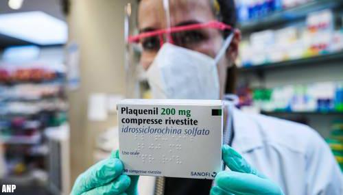 Frankrijk verbiedt gebruik hydroxychloroquine bij coronapatiënt