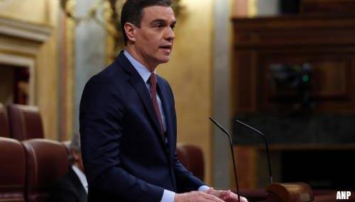 Spanje verlengt noodtoestand voor vierde keer