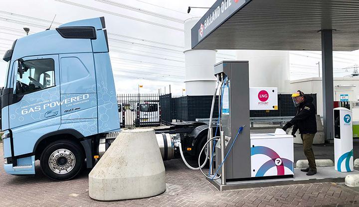 Nu extra koud LNG bij vernieuwd PitPoint.LNG-station in Zwolle