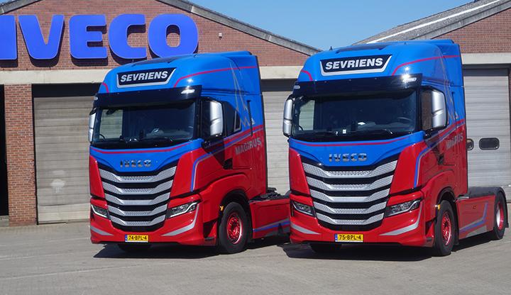 Twee nieuwe IVECO S-WAY voor Transportbedrijf Sevriens